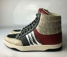Gucci High Top Leather Ayers Roccia MEN Sneakers 08G