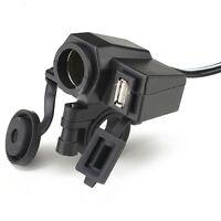 Car Cigarette Lighter Socket DC 12V 1A USB 5V Adapter For Moto Car Charger BT