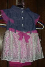 Girls Outfit 2 Piece 24Months Dress/Leggings Church Everyday NWT