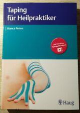 Taping für Heilpraktiker von Bianca Peters (2020, Taschenbuch)