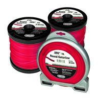 "HLB-105 2 pack Crossline trimmer line .105/"" x207ft high performance Truper"