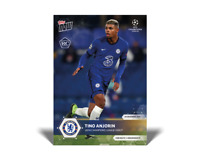 Tino Anjorin RC UEFA Champions League Debut - UCL TOPPS NOW Card #35 Rookie