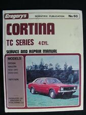 Gregory's Cortina TC Series 4 Cyl. Service + Repair Manual No. 60