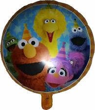 New Vintage 1990 Pink Big Bird Mylar Round Balloon