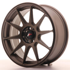 Un Cerchio in Lega Japan Racing JR11 17x7.25 ET35 5x112/114.3 Bronzo