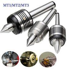 MT1 MT2 MT3 Morse Précision Centre Pointe Tournante Medium Duty Triple Tour CNC