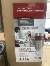 Nadair 700Aw Compact Powerful Central Vacuum System & Carpet Deluxe Accessory Ki