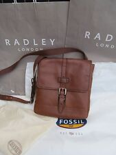 Genuine Fossil Men's Emerson Leather City Bag- NWT £139