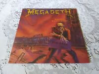 MEGADETH. PEACE SELLS BUT WHO'S BUYING. CAPITOL. 1986. FIRST PRESSING.,
