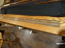 S-GLASS Fly Rod Blank 8' 5wt 3 piece Glossy Grey, Spigot Ferrule, Rod Building