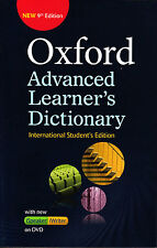 OXFORD ADVANCED LEARNER'S DICTIONARY with DVD Pbk 9th Edit 2015 @NEW@ Int'l St E