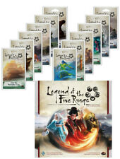 Legend Of The Five Rings Card Game + 12 Expansion Dynasty Packs