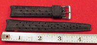 ORIGINAL Genuine Tropic Swiss 16mm dive watch band rubber curved endS dive
