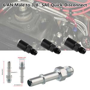 "6AN Male to 3/8"" SAE Fittings for C5 Corvette Fuel Pressure Regulator/Filter-EFI"
