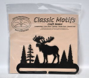 Classic Motifs 6 Inch Alaska Moose Craft Holder