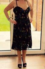 Teatro Ladies Stunning Silk Evening/Occasion/Party Dress Size 14