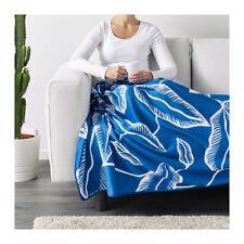 Ikea AVSIKTLIG Bedspread/blanket Blue Leaf 150x240/59x94 003.611.91
