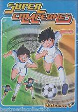 SEALED - Super Campeones / Captain Tsubasa DVD 6 Discs Vol 1 BRAND NEW