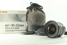 【Exc+++++ In Box】Canon EF-S 10-22mm f/3.5-4.5 USM Wide Angle Lens From Japan#141