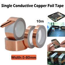 5-80mmx10m Kupfer Band Folie Abwehrband Abschirmband Selbstklebend