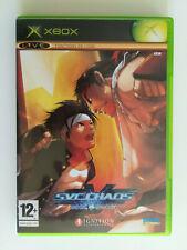 SVC Chaos SNK VS CAPCOM / Xbox / PAL / FR