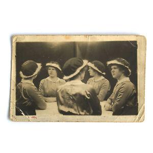 Girl Multigraph RPPC Postcard Mirror Photo
