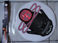 2 X DJ Turntables Slipmats SPACE HEAD