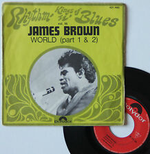 "Vinyle 45T James Brown   ""World - Kings of rhythm' n' blues vol. 16"""