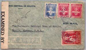 GP GOLDPATH: BOLIVIA COVER 1942 AIR MAIL _CV563_P15