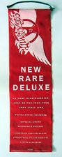 "AEROSMITH ""12 NEW RARE DELUXE"" U.S. PROMO FELT CLOTH BANNER FROM 1993-Get A Grip"