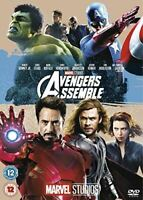 , Avengers Assemble [DVD]-(Cover may vary), Like New, DVD