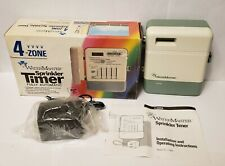 New listing WaterMaster 4-Zone Sprinkler Timer Fully Automatic Model 57004