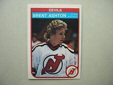 1982/83 O-PEE-CHEE NHL HOCKEY CARD #135 BRENT ASHTON ROOKIE NM SHARP!! 82/83 OPC