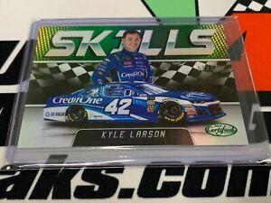 "Kyle Larson 2018 Certified ""Skills"" Insert Green  #'d 05/10 Beauty !"