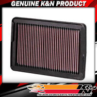 K&N Filters Fits 2007-2009 Hyundai Santa Fe Hi-Flow Air Intake Filter