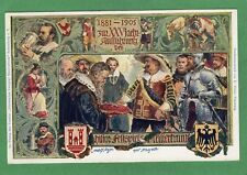 1881 to 1905 Official Jubilee card  Adam Borbet Bavaria  pc 1909 Ref N330