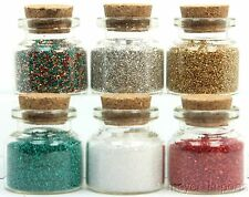 Holiday Glitter Colors Set - 311-M-0619 - German Glass Glitter