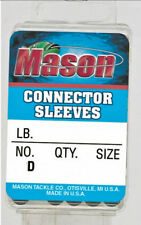 Mason CONNECTOR SLEEVES - Heavy Duty Sleeves Available in an Assortment of Sizes