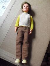 "Vintage 1973 Mattel Plastic Boy Character Doll 9 1/4"" Tall"