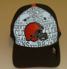 New Era Hat Cap NFL Football Cleveland Browns 39thirty M/L 2014 Draft Flex Fit