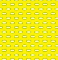 Heather Bailey Bijoux Mod Beads in Yellow Fabric 1yd