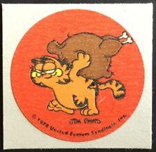 Vintage Garfield Stickers - MATTE Scratch & Sniff - Fried Chicken - Mint!!