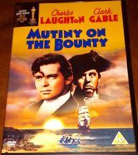 MUTINY ON THE BOUNTY DVD 30S FILM MOVIE CHARLES LAUGHTON CLARK GABLE