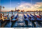 Sea Ocean Italy Venice Sunset Gondola Boat Wallpaper Wall Mural Bedroom Deco