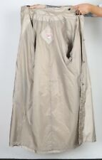 Trench Coat Raincoat UK 16, XL Mac Lined Beige (J3D)