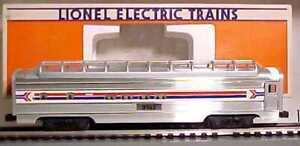 Lionel 6-19105 Amtrak Full Vista Dome Car EX/Box