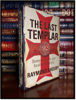 The Last Templar ✎SIGNED✎ by RAYMOND KHOURY Sealed Limited 1st Edition Hardback