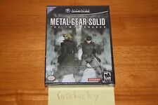 Metal Gear Solid: The Twin Snakes (Nintendo Gamecube) NEW SEALED BLACK LABEL!