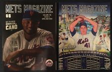 2 New York Mets Programs Issue 1 and 2 2019 Season