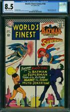 World's Finest Comics 166 CGC 8.5 -- 1967 -- Muto 1st Joker 3000 #1621645006